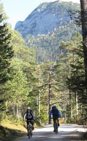 Biketour KARWENDEL-TAL (Mountainbike-Tour für Einsteiger) Bild 1