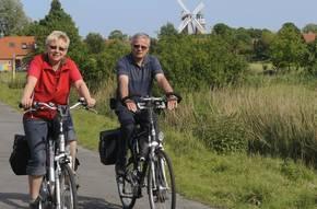 Fahrradreisen Dollard Route & Insel Borkum Bild 1