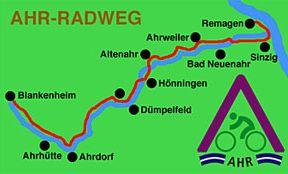 AHRRADWEG - Geheimtipp zwischen Eifel und Rhein (Ahr-Radweg) Bild 0