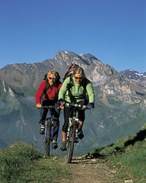 BIKETRAIL TIROL - MTB-Touren in den Alpen (Bike Trail Tirol) Bild 0