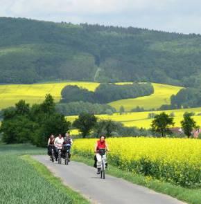 Übersicht Radwege, Radrouten, MTB-Routen in NORDHESSEN  Bild 2