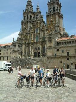JAKOBSWEG Radtour - Pilgerroute Pamplona - Santiago de Compostella Bild 0