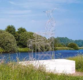 Radweg Vechtetalroute mit Kunstwegen (westliches Niedersachsen) Bild 2